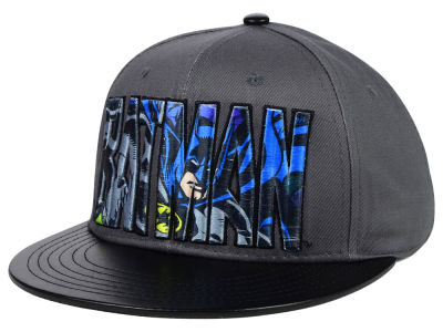 DC Comics Raised Wordmark Snapback Hat