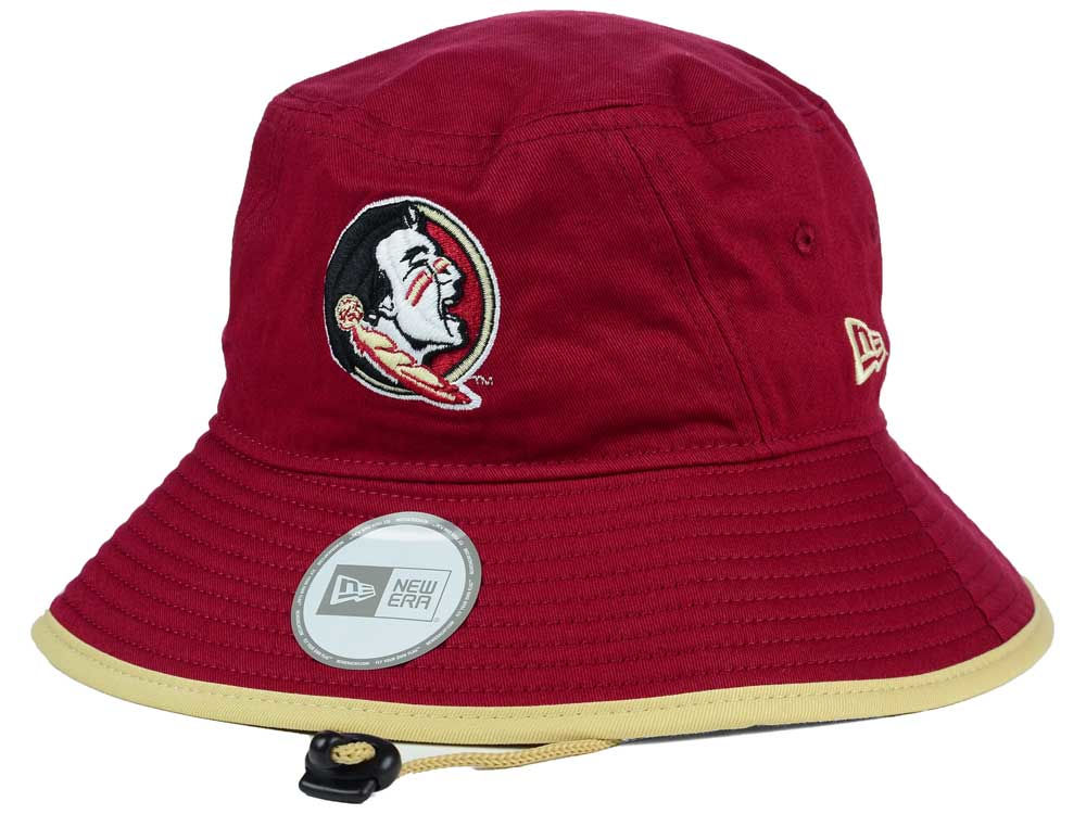 Florida State Seminoles New Era NCAA Tip Bucket  9b1a9f2cef7a