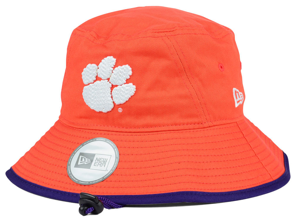Clemson Tigers New Era NCAA Tip Bucket  96f11226b283