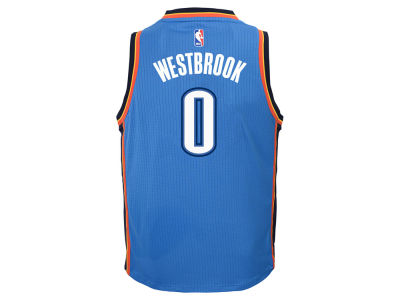 Oklahoma City Thunder Russell Westbrook NBA Youth Swingman Jersey