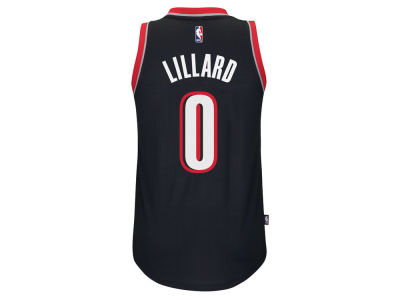 Portland Trail Blazers Damian Lillard NBA Youth New Swingman Jersey