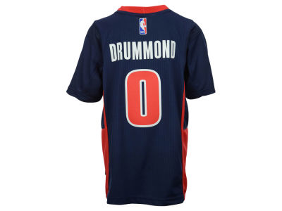 Detroit Pistons Andre Drummond NBA Youth Pride 3G Swingman Jersey