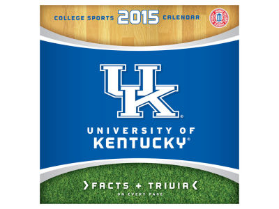 Kentucky Wildcats 2015 BOX CALENDAR