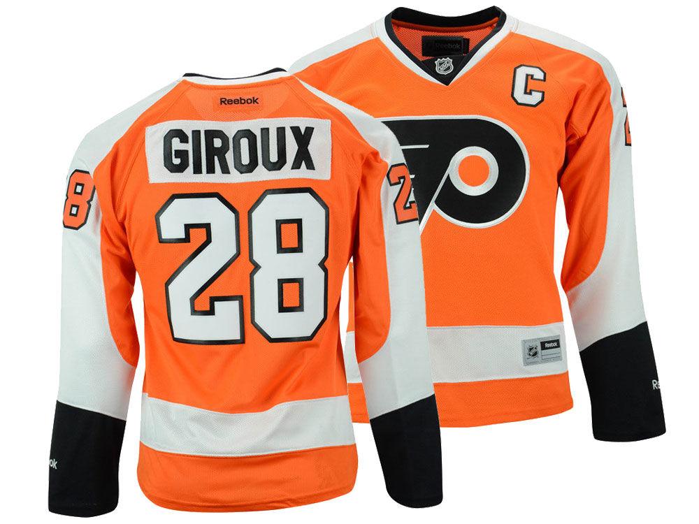Philadelphia Flyers Claude Giroux Reebok NHL Women s Premier Player Jersey   ab3b794cc