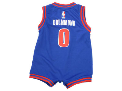 Detroit Pistons Andre Drummond NBA Infant Replica Jersey