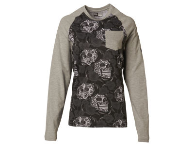 New Era Branded Sugar and Roses Raglan T-Shirt