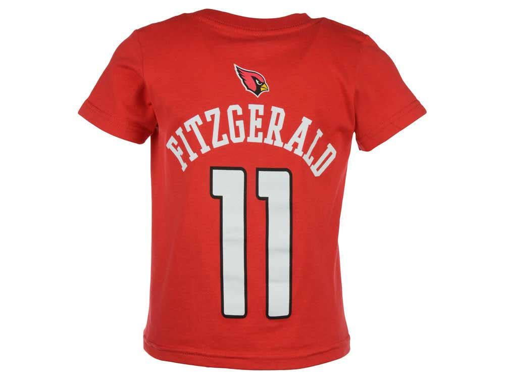 Arizona Cardinals Larry Fitzgerald Outerstuff NFL Kids Mainliner Player T- Shirt  55c70872f