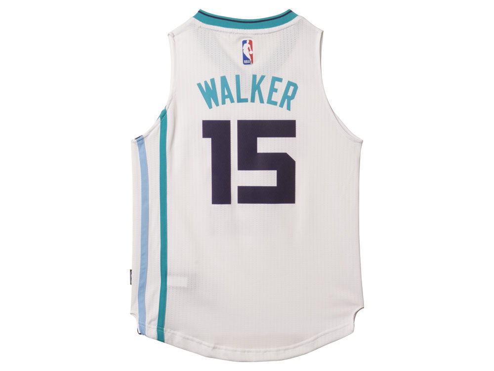 Charlotte Hornets Kemba Walker NBA Youth Swingman Jersey  1f8c20e19