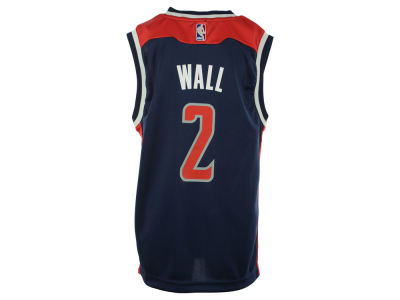 Washington Wizards John Wall Youth NBA Revolution 30 Jersey