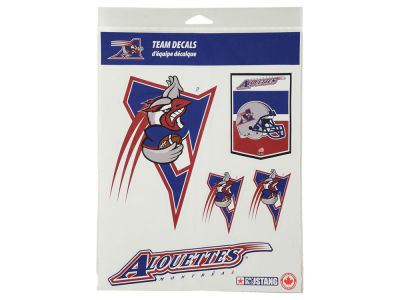 Montreal Alouettes CFL Basic Team Decal Set