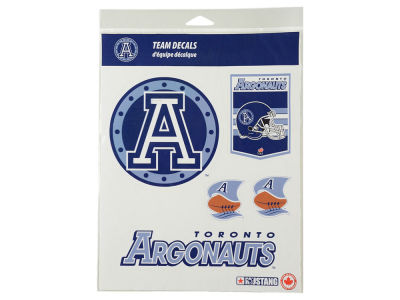Toronto Argonauts CFL Basic Team Decal Set