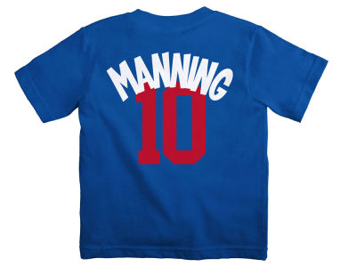 New York Giants Eli Manning NFL Kids Mainliner Player T-Shirt