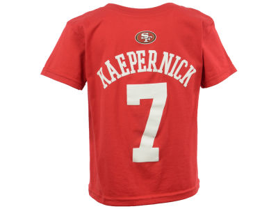 San Francisco 49ers Colin Kaepernick NFL Kids Mainliner Player T-Shirt