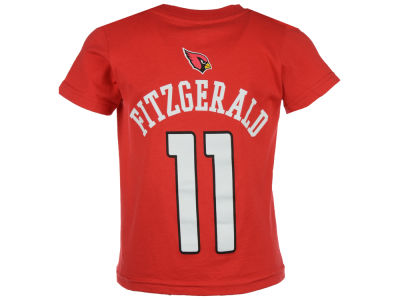 Arizona Cardinals Larry Fitzgerald Outerstuff NFL Toddler Mainliner Player T-Shirt