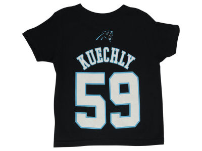 Carolina Panthers Luke Kuechly NFL Toddler Mainliner Player T-Shirt