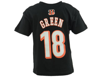 Cincinnati Bengals A. J. Green NFL Toddler Mainliner Player T-Shirt