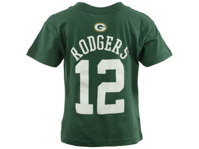 Green Bay Packers Aaron Rodgers NFL Toddler Mainliner Player T-Shirt