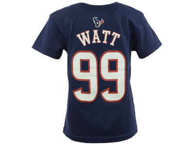 Houston Texans J.J. Watt NFL Toddler Mainliner Player T-Shirt