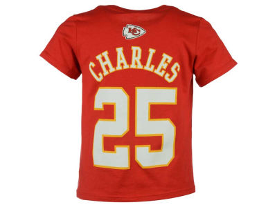 Kansas City Chiefs Jamaal Charles Outerstuff NFL Toddler Mainliner Player T-Shirt