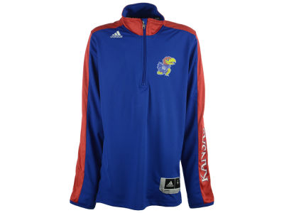 Kansas Jayhawks NCAA Youth On Court Long Sleeve Shooter Shirt