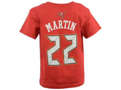 Tampa Bay Buccaneers Doug Martin NFL Toddler Mainliner Player T-Shirt