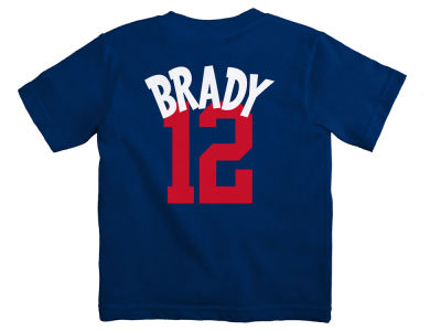 New England Patriots Tom Brady NFL Infant Whirlwind Player T-Shirt