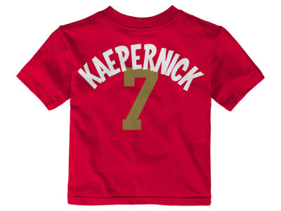 San Francisco 49ers Colin Kaepernick NFL Infant Whirlwind Player T-Shirt
