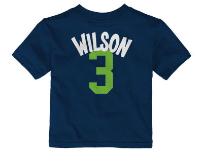 Seattle Seahawks Russell Wilson NFL Infant Whirlwind Player T-Shirt