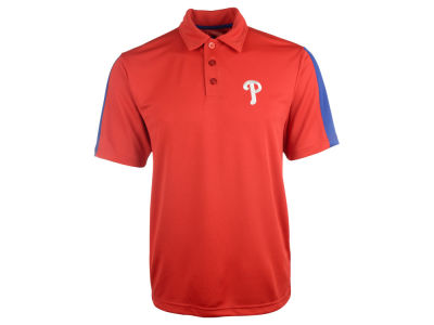 Philadelphia Phillies Majestic MLB Men's Career Maker Performance Polo Shirt