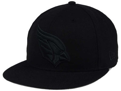 Arizona Cardinals New Era NFL Black on Black 59FIFTY Cap