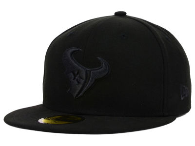 Houston Texans New Era NFL Black on Black 59FIFTY Cap