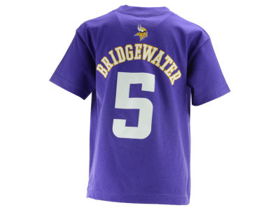 Minnesota Vikings Teddy Bridgewater  NFL Kids Mainliner Player T-Shirt