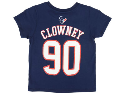 Houston Texans Jadeveon Clowney NFL Toddler Mainliner Player T-Shirt