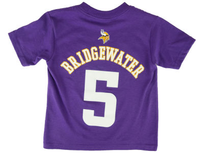 Minnesota Vikings Teddy Bridgewater NFL Toddler Mainliner Player T-Shirt
