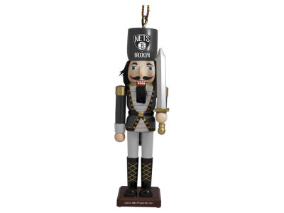 Brooklyn Nets Nutcracker Ornament
