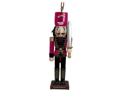 Miami Heat Nutcracker Ornament