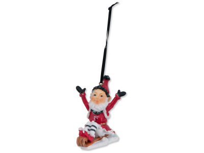 Chicago Bulls Sledding Elf Ornament