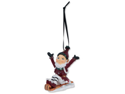 Miami Heat Sledding Elf Ornament
