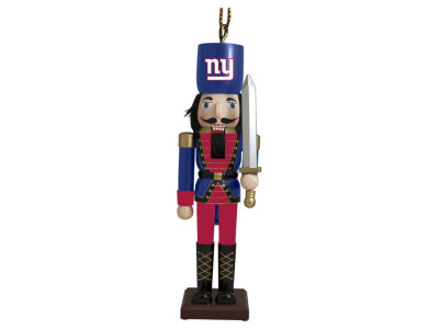 New York Giants Nutcracker Ornament