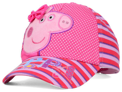 Peppa Pig Peppa Pig Toddlers 3D Satin Bow Striped Baseball Cap