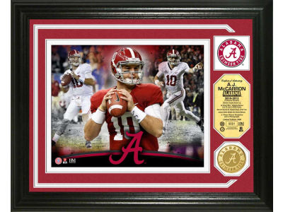 Alabama Crimson Tide AJ McCarron Highland Mint Photo Mint Coin-Bronze
