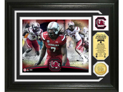 South Carolina Gamecocks Jadeveon Clowney Highland Mint Photo Mint Coin-Bronze