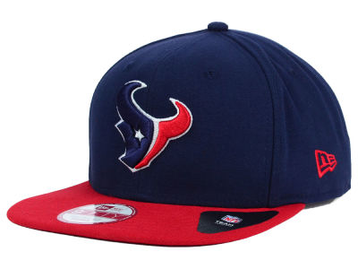 Houston Texans New Era NFL Original Fit Basic 9FIFTY Snapback Cap