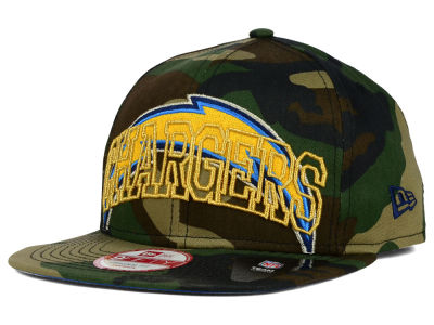 San Diego Chargers New Era NFL Metallic Cue Original Fit 9FIFTY Snapback Cap