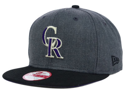 Colorado Rockies New Era MLB 2 Tone Action Original Fit 9FIFTY Snapback Cap
