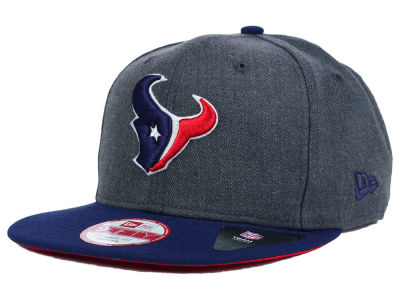 Houston Texans New Era NFL 2 Tone Action Original Fit 9FIFTY Snapback Cap