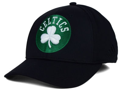 Boston Celtics adidas NBA Black Run and Gun Cap
