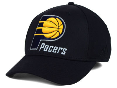 Indiana Pacers adidas NBA Black Run and Gun Cap