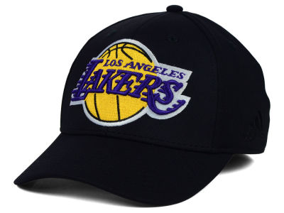 Los Angeles Lakers adidas NBA Black Run and Gun Cap