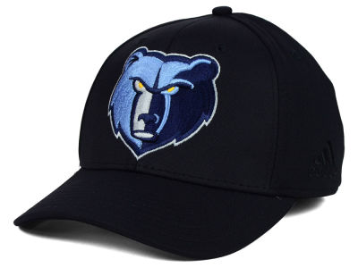 Memphis Grizzlies adidas NBA Black Run and Gun Cap